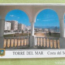 Postales: TORRE DEL MAR - AÑO 1996 - PASEO MARÍTIMO. Lote 278446178
