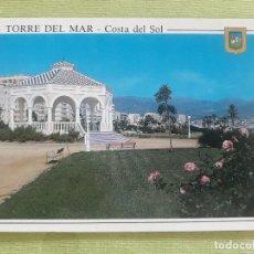 Postales: TORRE DEL MAR - AÑO 1996 - PASEO MARÍTIMO. Lote 278446388