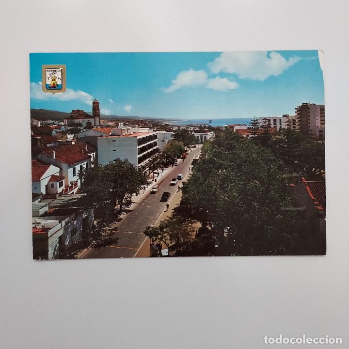 POSTAL MARBELLA. PASEO Y PARQUE DE LA ALAMEDA (MÁLAGA) SIN ESCRIBIR. Nº 22 DOMINGUEZ (Postales - España - Andalucia Moderna (desde 1.940))
