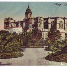 Postales: MÁLAGA: LA CATEDRAL. ED. DOMINGO DEL RÍO. NO CIRCULADA (AÑOS 10). Lote 279384838