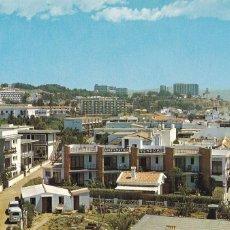 Cartes Postales: MALAGA, TORREMOLINOS VISTA PARCIAL DE LA CARIHUELA. ED. DOMINGUEZ Nº 65. AÑO 1968. Lote 282242138