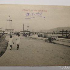 Postales: POSTAL DE MALAGA DEL AÑO 1918.NUEVA. Lote 282556568