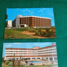 Postales: POSTAL ROQUETAS DE MAR ALMERÍA HOTELES ALIS Y PLAYAMAR. Lote 283625808