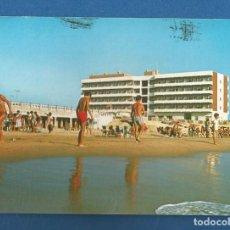 Cartes Postales: POSTAL CIRCULADA CADIZ 5791 PLAYA Y RESIDENCIA MILITAR EDITA PERLA. Lote 286763818