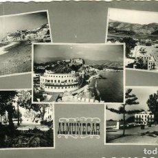 Postales: ALMUÑECAR (GRANADA).- POSTAL MOSAICO 5 VISTAS.. EDICIONES GRÁFICAS CONTRERAS.. Lote 287312398