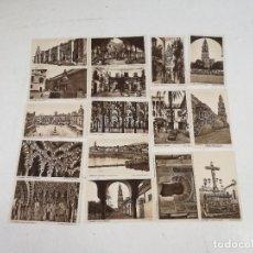 Postales: LOTE CON 16 ANTIGUAS POSTALES B/N DE CÓRDOBA, FOT. L. ROISIN, BARCELONA, MEDIADOS XX. Lote 287447203