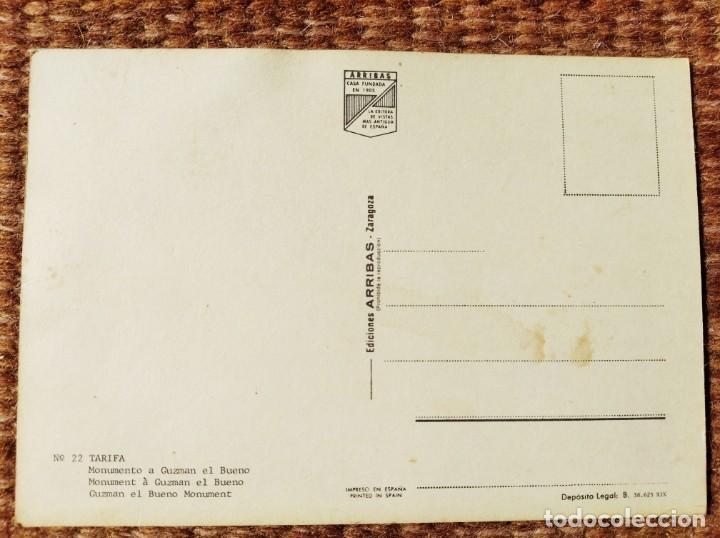 Postales: TARIFA - CADIZ - MONUMENTO A GUZMAN EL BUENO - Foto 2 - 287668818