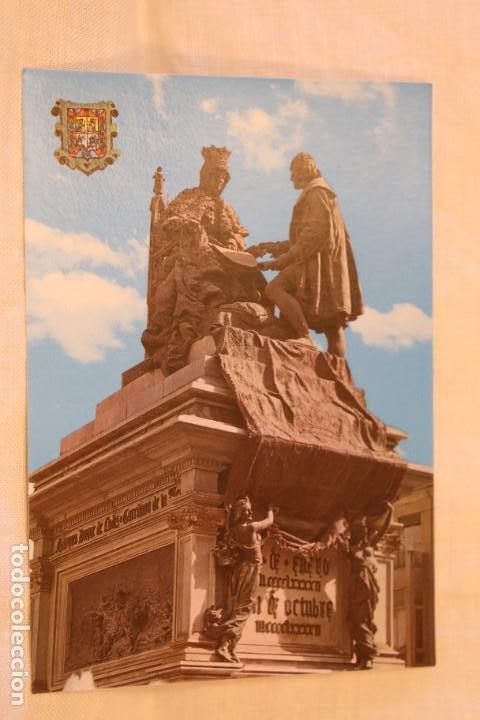 GRANADA SERIE 45 Nº 626 MONUMENTO A ISABEL LA CATÓLICA Y CRISTÓBAL COLÓN S/C (Postales - España - Andalucia Moderna (desde 1.940))