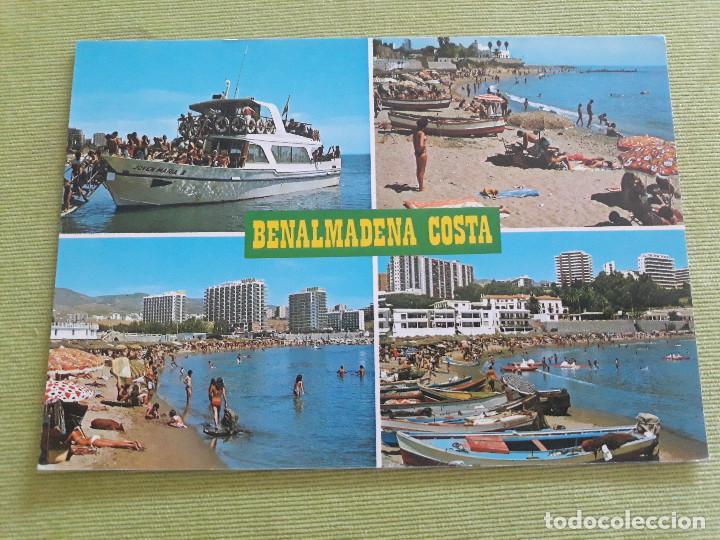 1246 BENALMADENA - COSTA DEL SOL - VISTAS DIVERSAS (Postales - España - Andalucia Moderna (desde 1.940))
