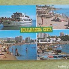 Postales: 1246 BENALMADENA - COSTA DEL SOL - VISTAS DIVERSAS. Lote 287913248