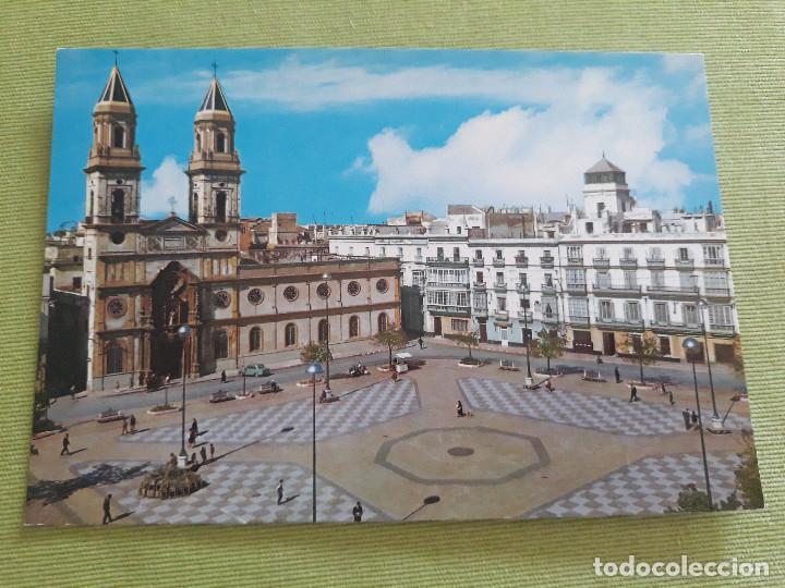 CADIZ - PLAZA DE SAN ANTONIO 15 (Postales - España - Andalucia Moderna (desde 1.940))