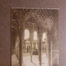 Postales: GRANADA ALHAMBRA PATIO DE LOS LEONES. Lote 288168768