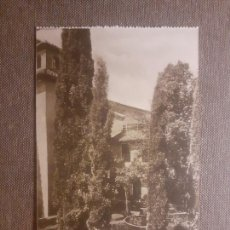 Postales: GRANADA ALHAMBRA PATIO DE LINDARAJA. Lote 288168863