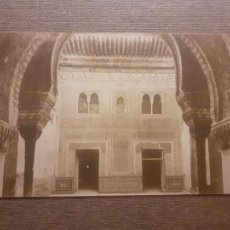 Postales: GRANADA ALHAMBRA FACHADA DEL CUARTO DE GOMARES. Lote 288168898