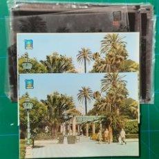 Postales: CADIZ Nº 5141 ALAMEDA MARQUES COMILLAS / POSTAL /NEGATIVOS / PRUEBA COLOR / EDI. PERGAMINO. Lote 288218068