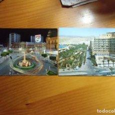 Postales: ALMERIA.POSTALES AÑOS 60-70.. Lote 289471153
