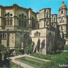 Postales: POSTAL MÁLAGA - LA CATEDRAL. Lote 289507628