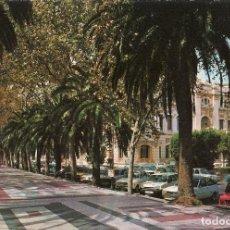 Postales: POSTAL MÁLAGA - PASEO DEL PARQUE. Lote 289507708