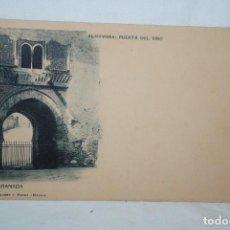 Postales: ANTIGUA POSTAL DE GRANADA , PUERTA DEL VINO .. Lote 289507758