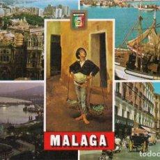 Postales: POSTAL MÁLAGA - DIVERSOS ASPECTOS. Lote 289507788