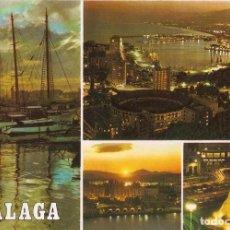 Postales: POSTAL MÁLAGA - DIVERSOS ASPECTOS. Lote 289507838