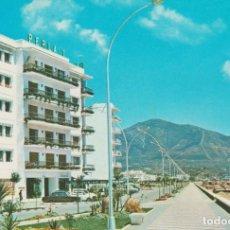 Postales: (1245) FUENGIROLA. PASEO MARITIMO . HOTEL PERLA 1 ... SIN CIRCULAR. Lote 289511313