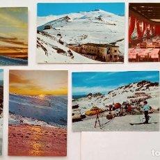 Postales: 6 POSTALES DE SIERRA NEVADA (GRANADA). Lote 289764123