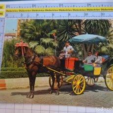Postales: POSTAL DE MÁLAGA. AÑO 1974. TÍPICO COCHE DE CABALLOS. 156 GARRABELLA. 1047. Lote 289891273