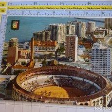 Postales: POSTAL DE MÁLAGA. AÑO 1970. PLAZA DE TOROS PASEO MARÍTIMO. 32 ESCUDO ORO. 1050. Lote 289891508