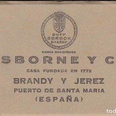 Postales: CADIZ, PUERTO DE SANTA MARIA, OSBORNE. BLOC POSTAL COMPLETO CON 12 POSTALES. ED. ARTE BILBAO. Lote 289891598