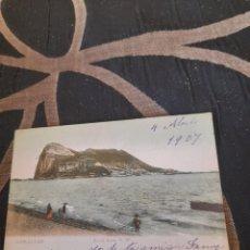 Postales: ANTIGUA POSTAL DE GIBRALTAR DE 1907. Lote 291463153