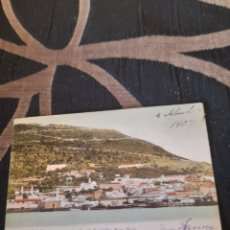 Postales: ANTIGUA POSTAL DE GIBRALTAR DE 1907. Lote 291463323