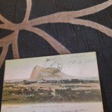 Postales: ANTIGUA POSTAL DE GIBRALTAR DE 1907. Lote 291463558