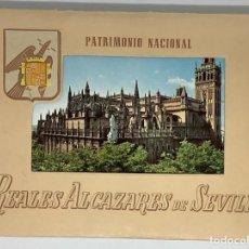 Postales: SEVILLA, REALES ALCÁZARES, 10 VISTAS COLOR, EDIT. PATRIMONIO NACIONAL. Lote 291531823
