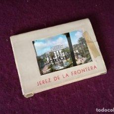 Postales: ANTIGUO LIBRITO CON 10 POSTALES EN ACORDEÓN DE JEREZ DE LA FRONTERA. Lote 293303128