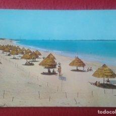 Postales: POSTAL POST CARD CÁDIZ EL PUERTO DE SANTA MARÍA PLAYA ANDALUCÍA BEACH PLAGE, SOMBRILLAS..VER FOTO/S.. Lote 293474408