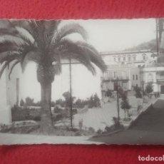 Postales: POSTAL CONSTANTINA SEVILLA EDICIONES GARCÍA GARRABELLA Nº 1 PLAZA DEL TENIENTE GARCÍA PALMERA JARDIN. Lote 293543888
