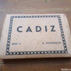 Postales: CADIZ. 20 FOTOGRAFÍAS. SERIE B. L. ROISIN. Lote 293899333
