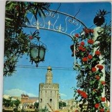 Postales: SEVILLA, TORRE DE ORO. AUBI. ESCRITA.. Lote 294104863