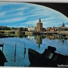 Postales: SEVILLA, TORRE DEL ORO. BEASCOA. ESCRITO.. Lote 294105063