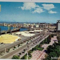 Postales: CÁDIZ, AVDA RAMÓN DE CARRANZA Y MUELLES. SUBIRATS CASANOVA. CIRCULADA 1967.. Lote 294106258