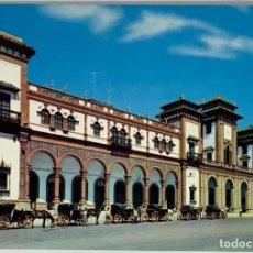 Postales: JEREZ DE LA FRONTERA, CÁDIZ. ESTACIÓN DE FERROCARRIL. AGM, SIN CIRCULAR.. Lote 294107573