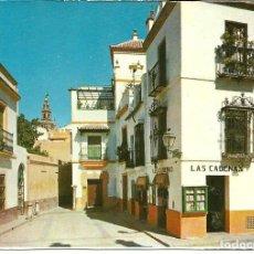 Postales: POSTAL SEVILLA - RINCON DEL BARRIO DE SANTA CRUZ - FISA, SIN USAR. Lote 294139433