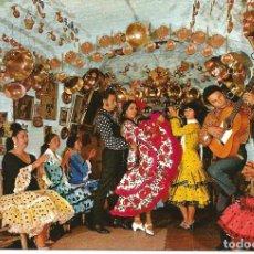 Postales: POSTAL ESPAÑA TIPICA - BAILE GITANO EN UNA CUEVA - SAVIR 1969, SIN USAR. Lote 294140768