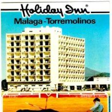 Postales: TORREMOLINOS (MÁLAGA) - HOTEL HOLIDAY INN - LA CORRIDA - EUROGRAF 22-18-44 - 150X103MM.. Lote 294384283