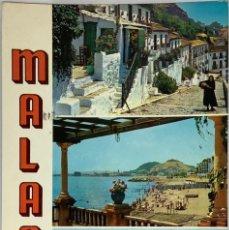 Postales: MÁLAGA. VISTAS. BEASCOA. CIRCULADA TORREMOLINOS 1965.. Lote 294462543