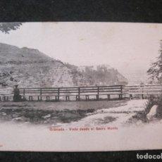 Postales: GRANADA-VISTA DESDE EL SACRO MONTE-P.Z. 10494 REVERSO SIN DIVIDIR-POSTAL ANTIGUA-(85.135). Lote 294965958