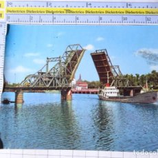 Postales: POSTAL DE SEVILLA. AÑO 1973. PUENTE DE ALFONSO XIII SOBR EL GUADALQUIVIR 644 BEASCOA. 1366. Lote 294972408