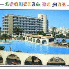 Postales: Nº 48-ROQUETAS DE MAR. ALMERÍA. HOTEL PLAYASOL. SIN CIRCULAR. EDICIONES ARRIBAS. Lote 295510433