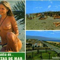 Postales: Nº 33-ROQUETAS DE MAR. ALMERÍA. DIVERSOS ASPECTOS. SIN CIRCULAR. EDICIONES ARRIBAS. Lote 295511233